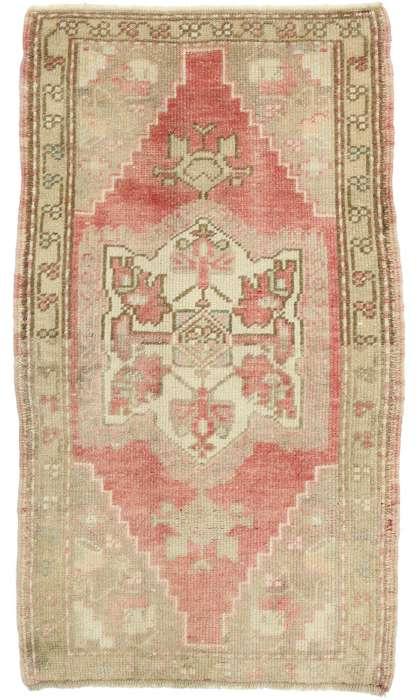 2 x 4 Vintage Oushak Rug 52684