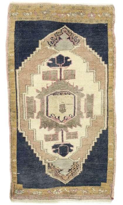 2 x 3 Vintage Oushak Rug 52686