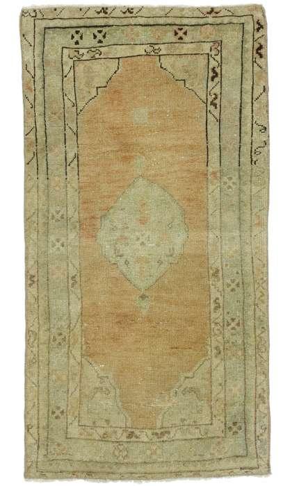 2 x 4 Vintage Oushak Rug 52714
