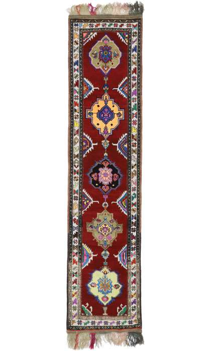 3 x 13 Vintage Oushak Rug 52718