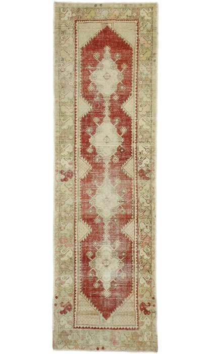 3 x 11 Vintage Oushak Rug 52719