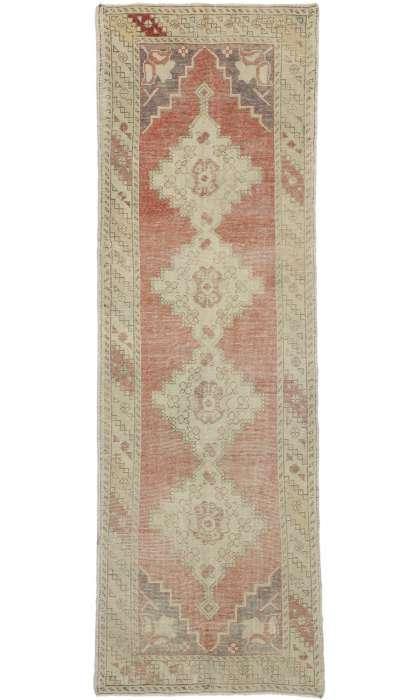 3 x 10 Vintage Oushak Rug 52721