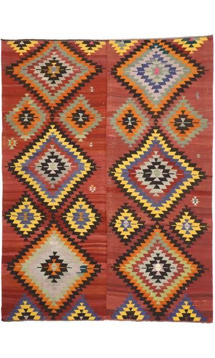 9 x 12 Vintage Kilim Rug 52729