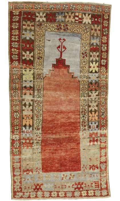 3 x 6 Vintage Oushak Rug 52748