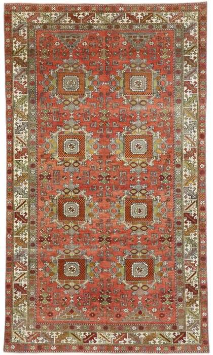 6 x 10 Vintage Oushak Rug 52751