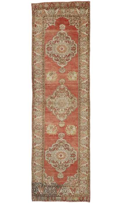 4 x 12 Vintage Oushak Rug 52759