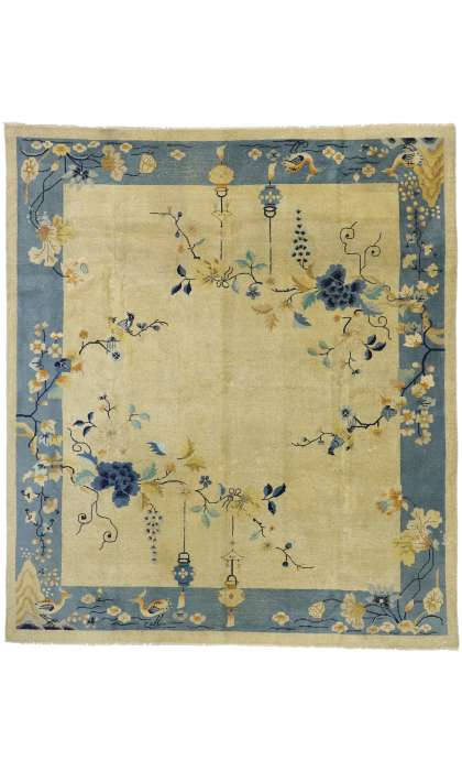 10 x 12 Antique Distressed Peking Rug 52764