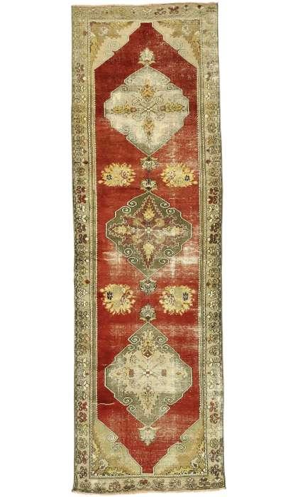 3 x 10 Vintage Oushak Rug 52772