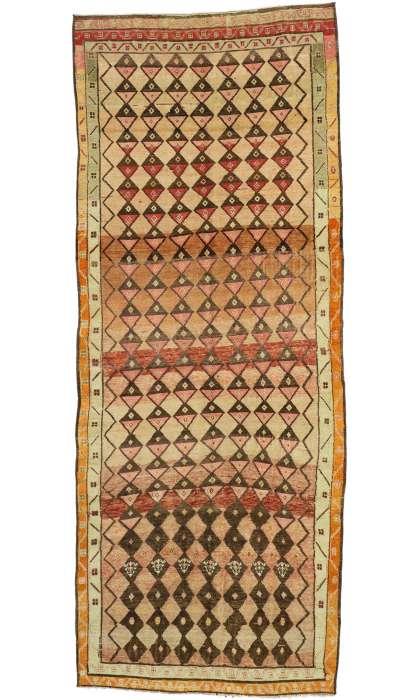 5 x 13 Vintage Oushak Rug 52773