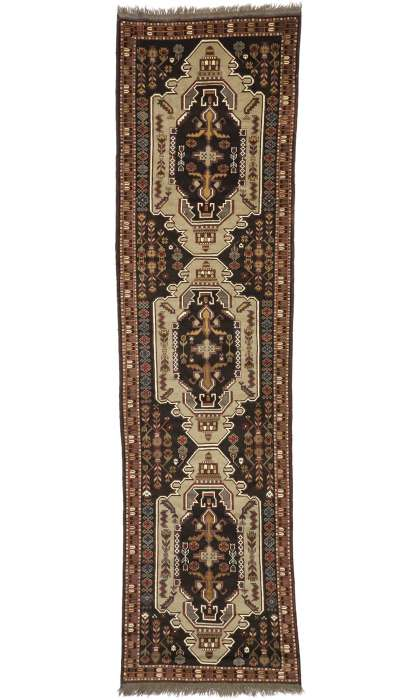 3 x 12 Antique Russian Rug 71046