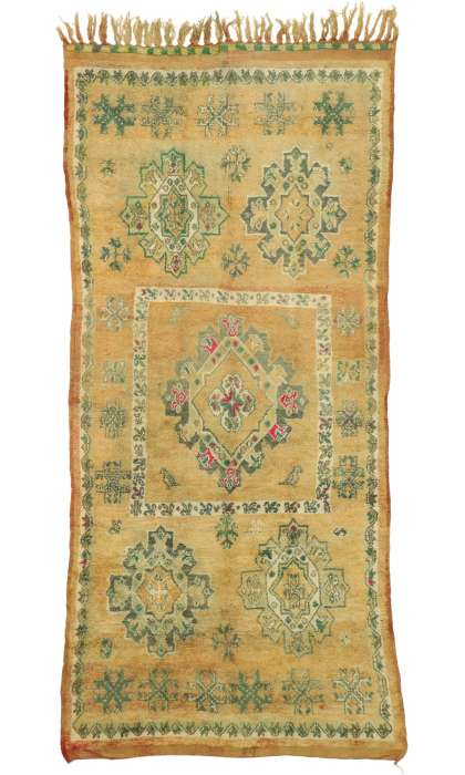 6 x 13 Vintage Moroccan Rug 20936