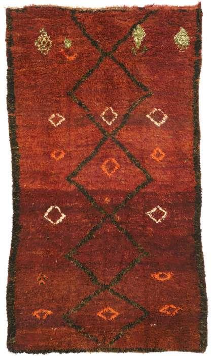 6 x 11 Vintage Moroccan Rug 20947