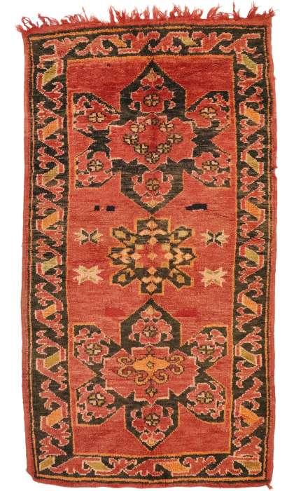 4 x 8 Vintage Moroccan Rug 20948