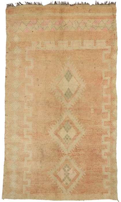 5 x 9 Vintage Moroccan Rug 20954