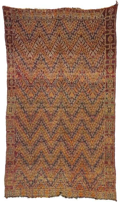 6 x 11 Vintage Moroccan Rug 20958