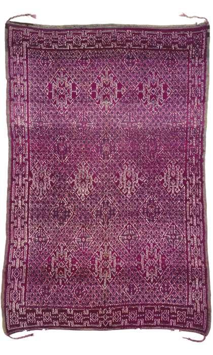 6 x 9 Vintage Moroccan Rug 20959