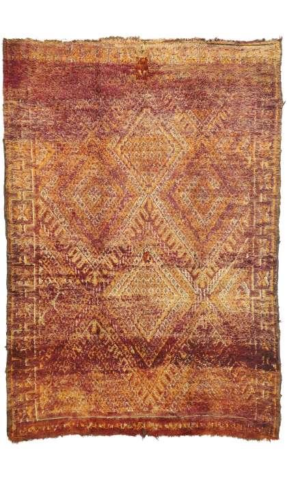 6 x 9 Vintage Moroccan Rug 20964