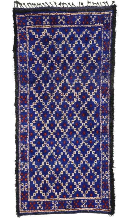 6 x 13 Vintage Moroccan Rug 20968