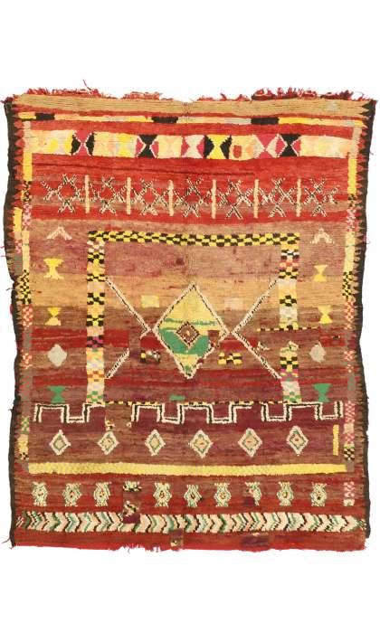 6 x 8 Vintage Moroccan Rug 20969