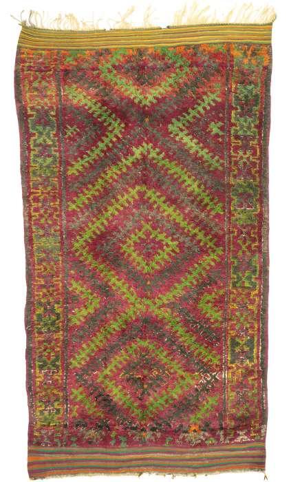 7 x 12 Vintage Moroccan Rug 20971