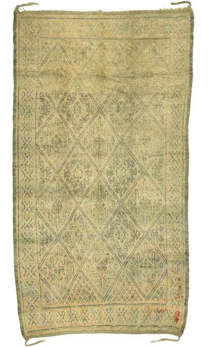 6 x 11 Vintage Moroccan Rug 20973