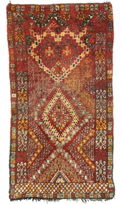 6 x 11 Vintage Moroccan Rug 20977