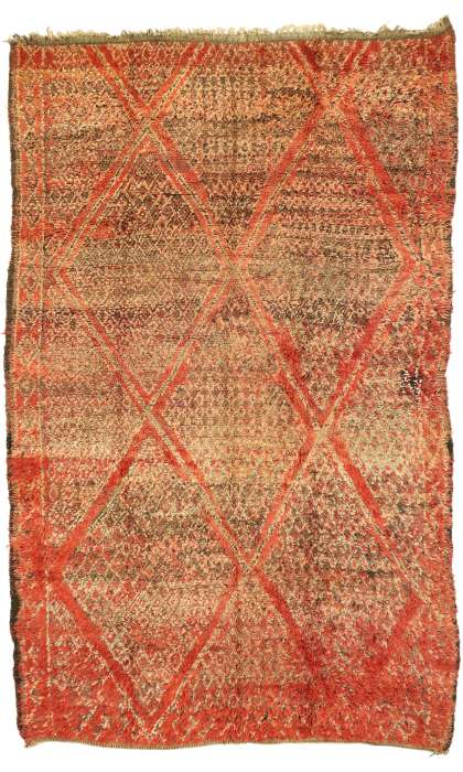 6 x 9 Vintage Moroccan Rug 20979