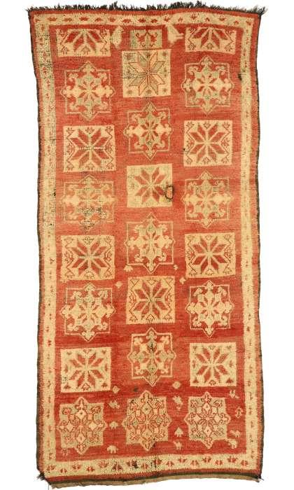 6 x 11 Vintage Moroccan Rug 20982