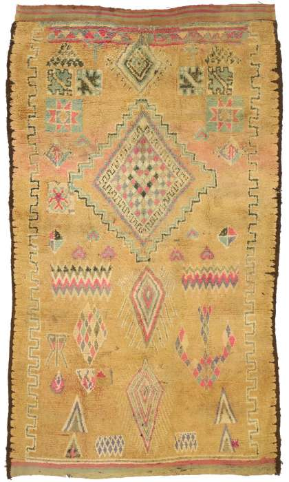 5 x 8 Vintage Moroccan Rug 20988