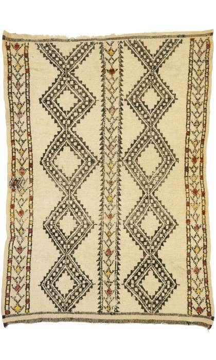 6 x 8 Vintage Moroccan Rug 20990