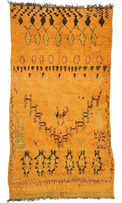 6 x 11 Vintage Moroccan Rug 21000