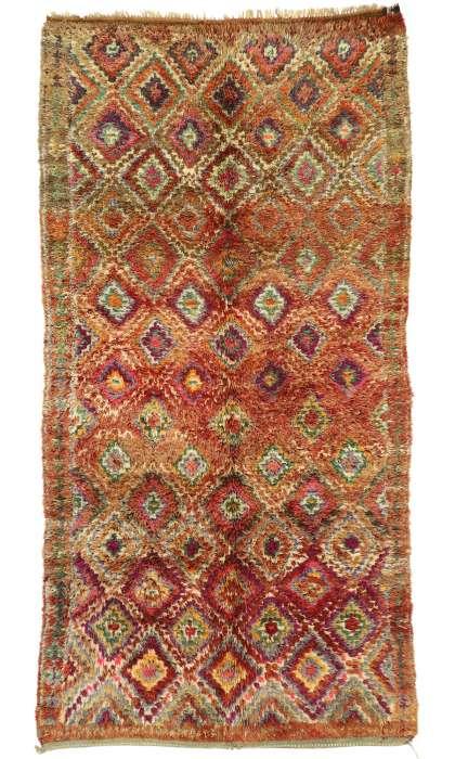 6 x 12 Vintage Moroccan Rug 21014