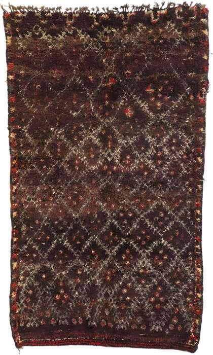 6 x 10 Vintage Moroccan Rug 21021