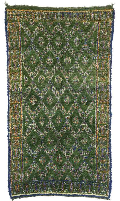 6 x 11 Vintage Moroccan Rug 21023