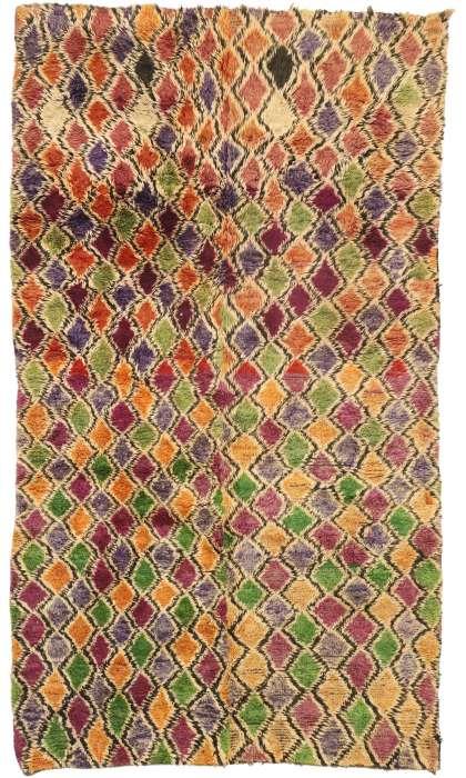 5 x 9 Vintage Moroccan Rug 21027