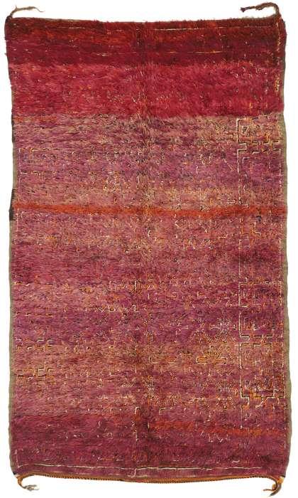 6 x 10 Vintage Moroccan Rug 21032