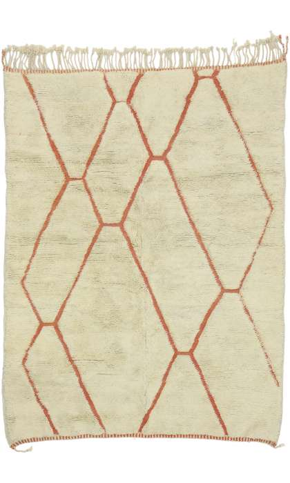 5 x 7 Contemporary Moroccan Rug 21035