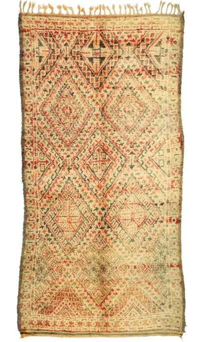 7 x 14 Vintage Moroccan Rug 21052