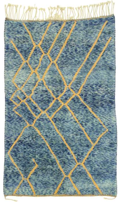 5 x 8 Contemporary Moroccan Rug 21053