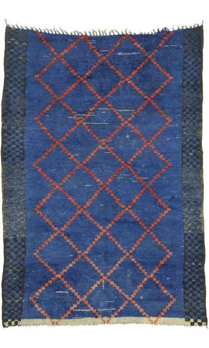 6 x 8 Vintage Moroccan Rug 21056