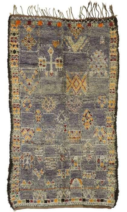 6 x 11 Vintage Moroccan Rug 21057