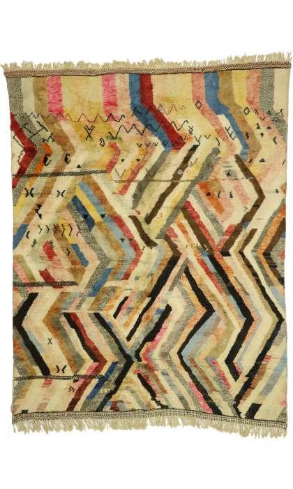 10 x 13 Vintage Moroccan Rug 21077
