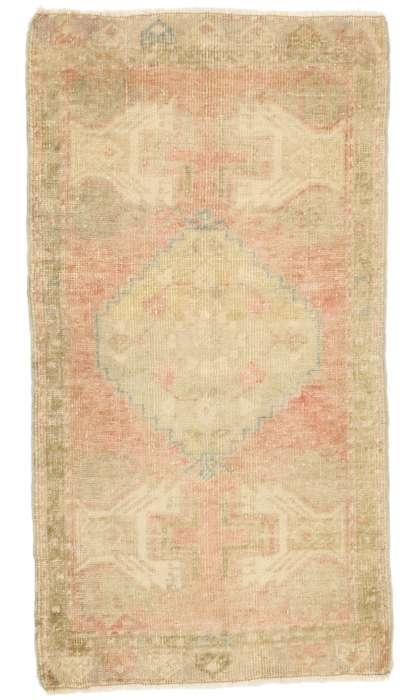 2 x 3 Vintage Oushak Rug 52694