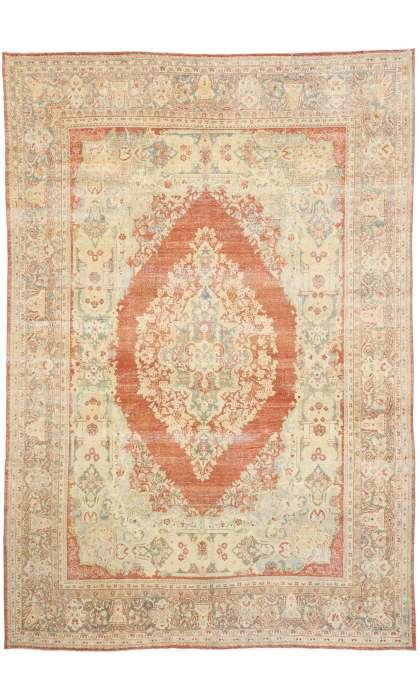 10 x 15 Vintage Mahal Rug 52783