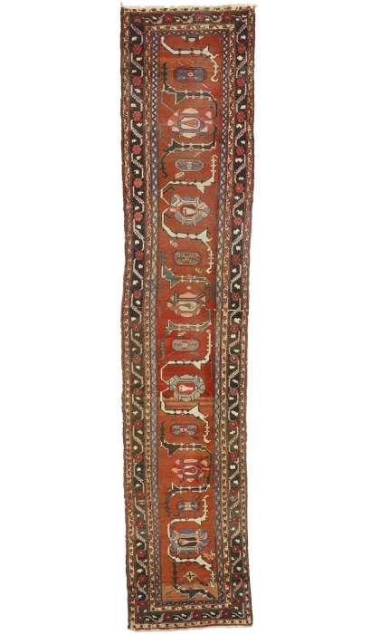 3 x 16 Antique Hamadan Rug 73248