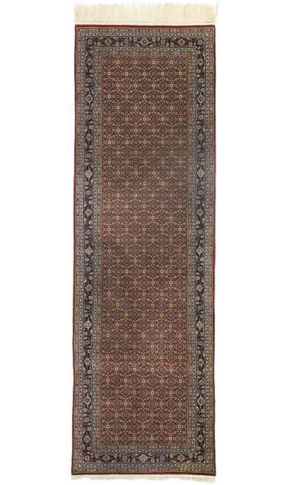 3 x 8 Vintage Tabriz Rug 76868