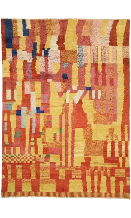 10 x 14 Contemporary Moroccan Rug 80569