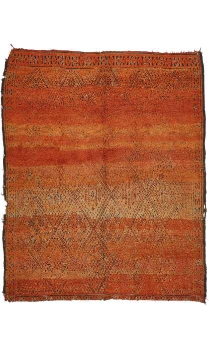 7 x 9 Vintage Moroccan Rug 20903