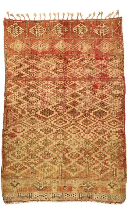 6 x 9 Vintage Moroccan Rug 20906