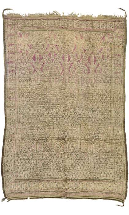 6 x 9 Vintage Moroccan Rug 20915